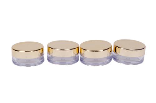 Round Shape Acrylic Cosmetic Jar