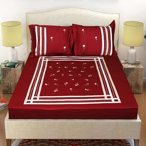 Royal Decor Embroidered Bed Sheets