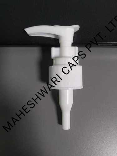 White Plastic Dispenser Pump