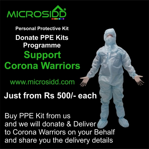 70gsm Sitra Certified Ppe Kit