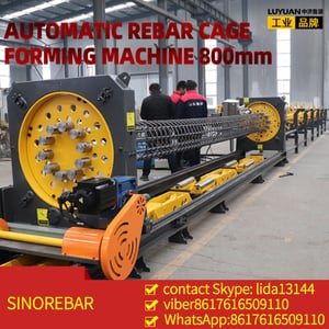 Fully Automatic Cnc Steel Cage Roll Welding Machine
