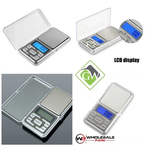Pocket Scale With Lcd Display