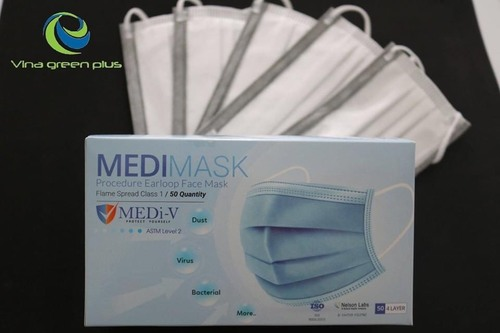 4 Layer Antimicrobial Face Mask