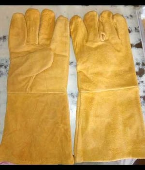 Safety Canadian Leather Hand Gloves