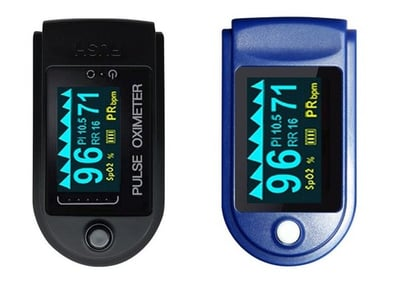 Fingertip Pulse Oximeter With Led Screen