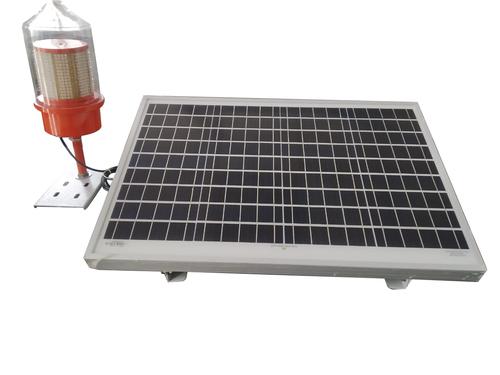Made From Cast Aluminum Medium Intensity Type B Solar Aviation Light Single And Dual Dome, Flashing
