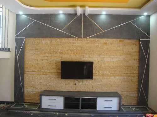 Modern Design Wooden Tv Wall Unit