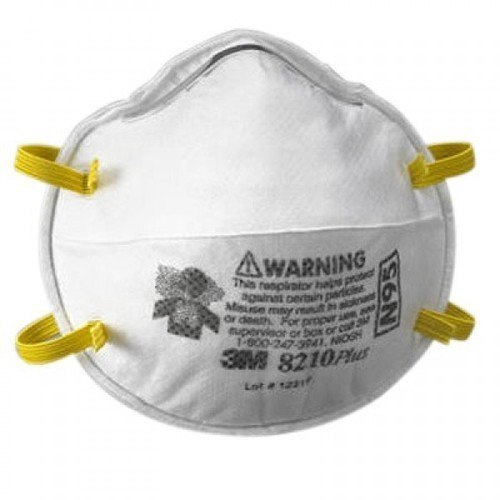 Niosh Approved 3m 8210 Face Mask