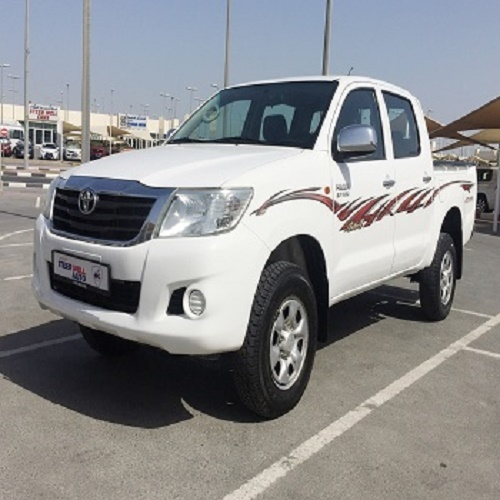 Used Toyota Hilux 2016 and 2017