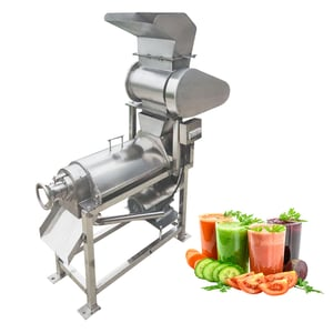 Industrial Fruit and Vegetable Screw Crushed Juice Making Machine
