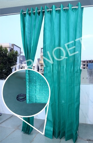 Green Outdoor Curtains For Balcony