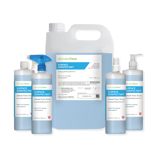 Surface Alcohol Based Liquid Disinfectant