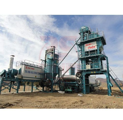 Automatic Y Series Mobile Type Asphalt Mixing Plant