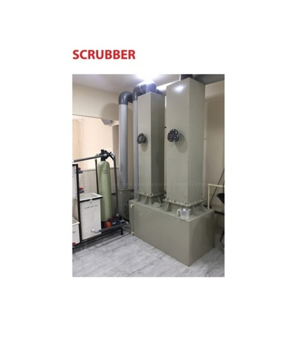 Scrubber For Gold Refining Plant