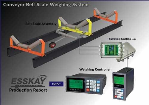 Fully Electronic Belt Scale