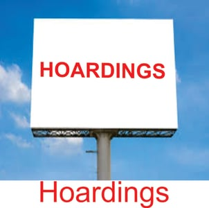 Hoardings Advertising Services into Barter.