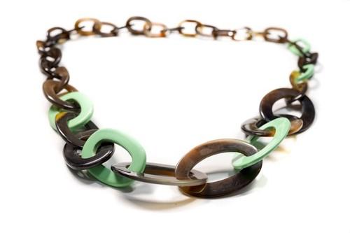 Modern Design Horn Necklace