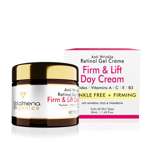 Volamena Wrinkle Free Firm & Lift Day Cream With Retinol (Vitamin A) 50 Ml