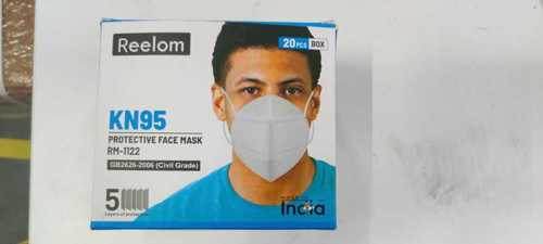 White Kn 95 Mask