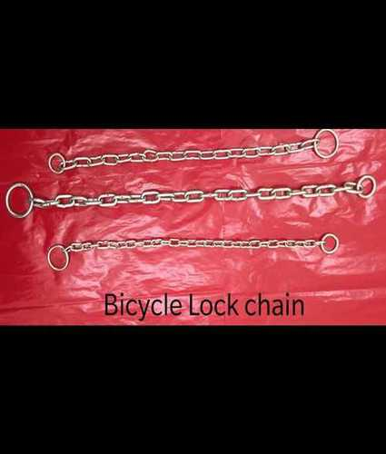 Metal Bicycle Lock Chain Fence Width: 3.15 Millimeter (Mm)