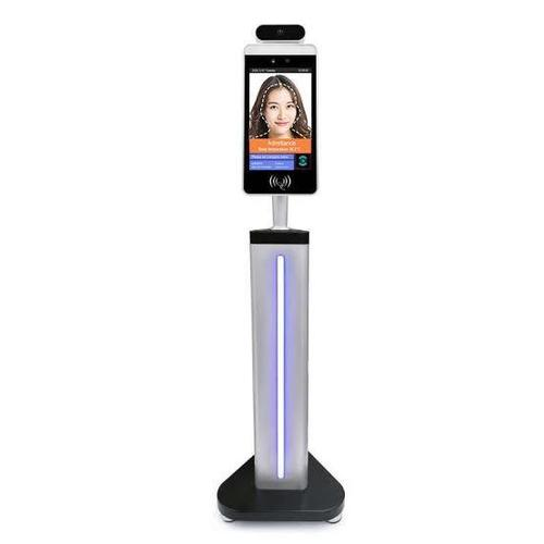 Automatic Facial Recognition System With Temperature Detection Mask Recognition