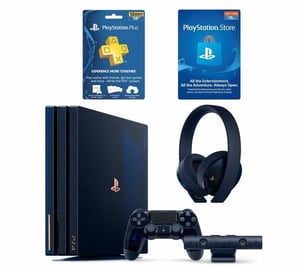 New PS4 Pro 1TB, 2TB Slim 4TB Console, 15 Games, 2 Controller And VR