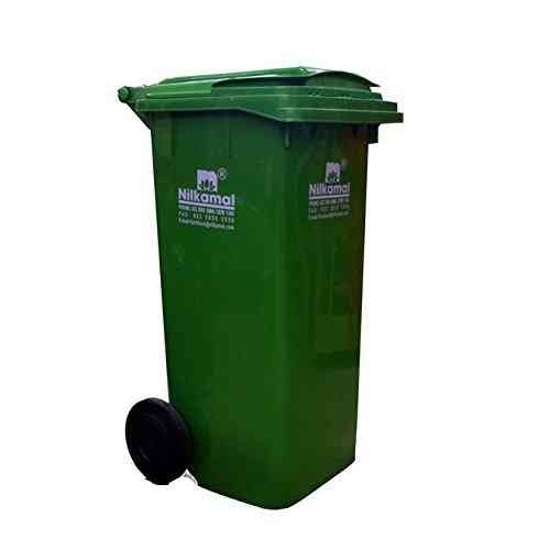 120 Ltr Dry And Wet Waste Fiber Wheeled Dustbin Application: Public Places