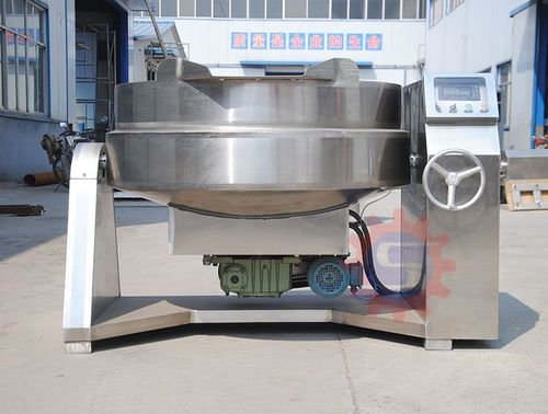 Low Noice Chilli Jacketed Mix Steam Kettle