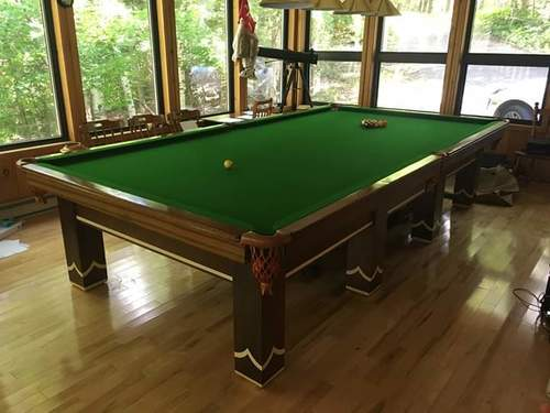 Finely Finished Snooker Table