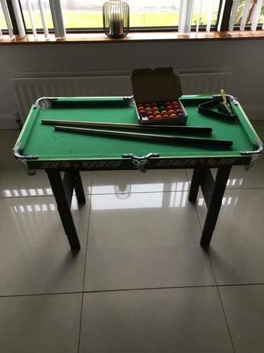 Snooker Table Both For Adults And Kids