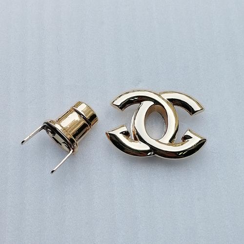 36*27mm Fashion Stylish Bags Lock Zinc Alloy Gold Alphabet Logo Hardware Twist Bag Lock For Bag Accessory Hd246-19