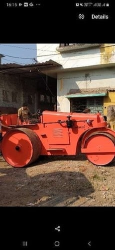 Double Drum Static Road Roller
