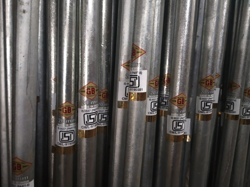 Rust Resistance GI Conduit Pipes