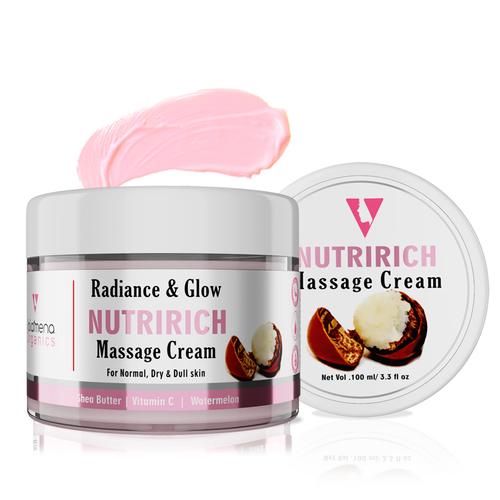 Volamena Radiance & Glow Watermelon Nutririch Massage Cream 100 Ml