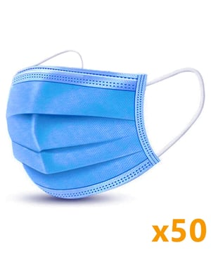 Comfortable 3 Ply Face Mask
