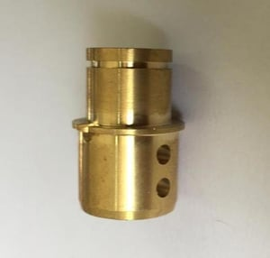 Finely Finished Brass CNC Component