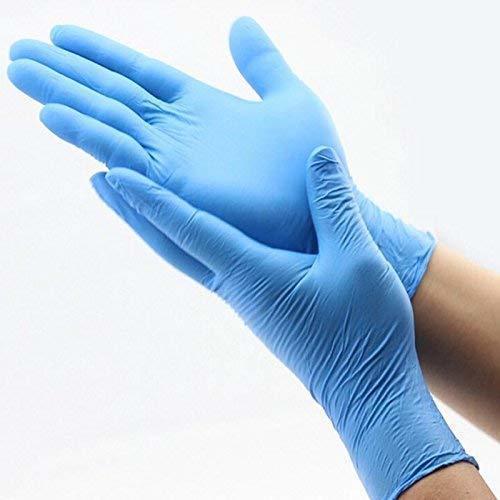Blue Nitrile Powder-Free Hand Gloves