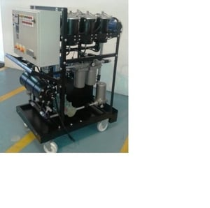 Turbine Oil Cleaning System