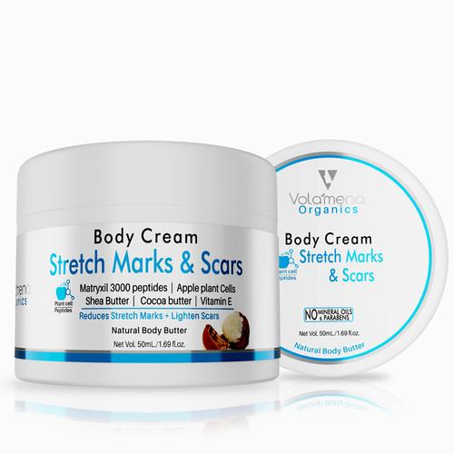 Volamena Body Cream For Stretch Marks & Scars 50ml