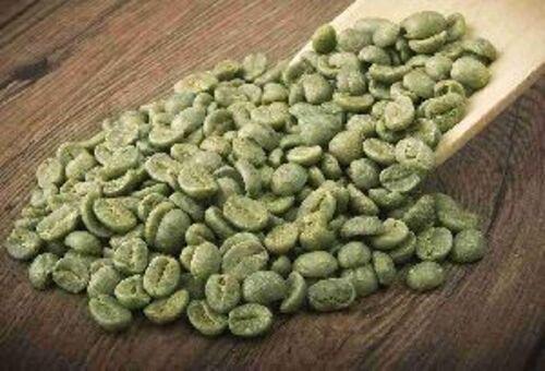 Organic Green Raw Coffee Beans