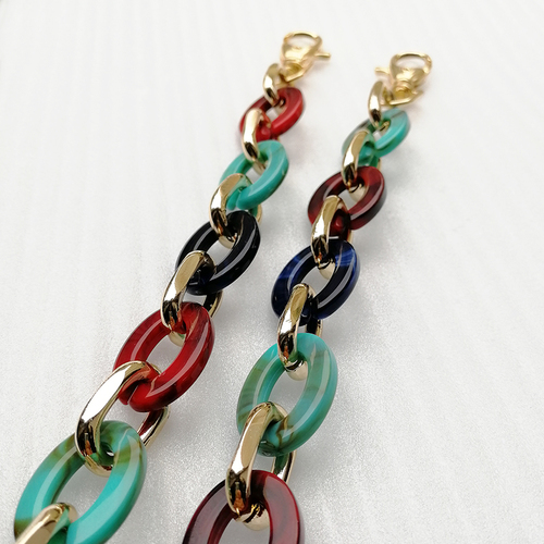 New Style Ladies Fashion Plastic Link Chain For Belt Bag Accessories Hd298-19