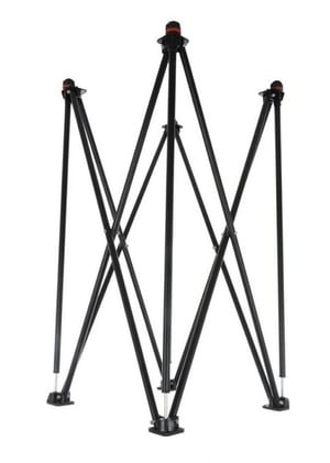 Portable Foldable Carrom Board Iron Stand