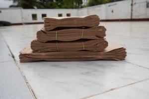 Brown Paper Pouch Bags