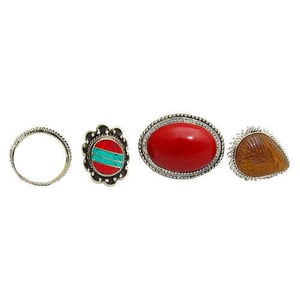 Casual Wear Stone Ring