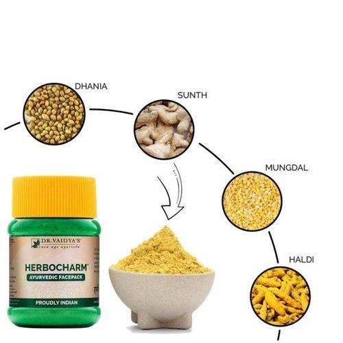 Herbocharm Ayurvedic Face Pack