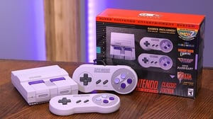 SNES Classic Unboxing Video Game