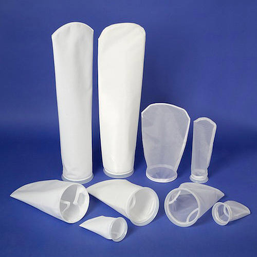 White Colored Filter Bag