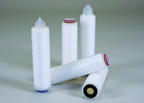 White Colored Pleated Cartridge Filter
