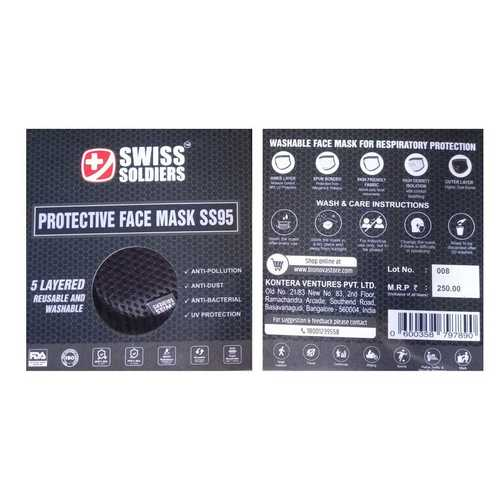 5 Layer Protective Face Mask Ss95