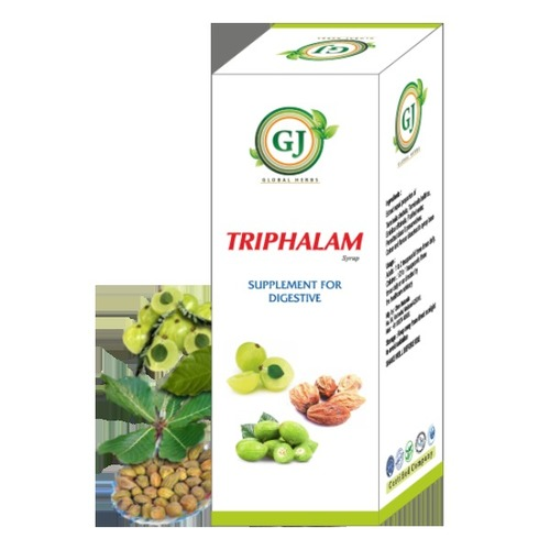 Herbal Composition Triphala Syrup Certifications: Halal